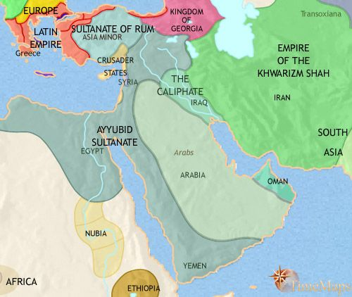 AD Turkish Sultans Also Came To Power In Egypt Which Had - Map of egypt 1300 bc