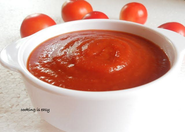 Homemade Tomato Sauce.....you will use store-bought ones...plus save money too.