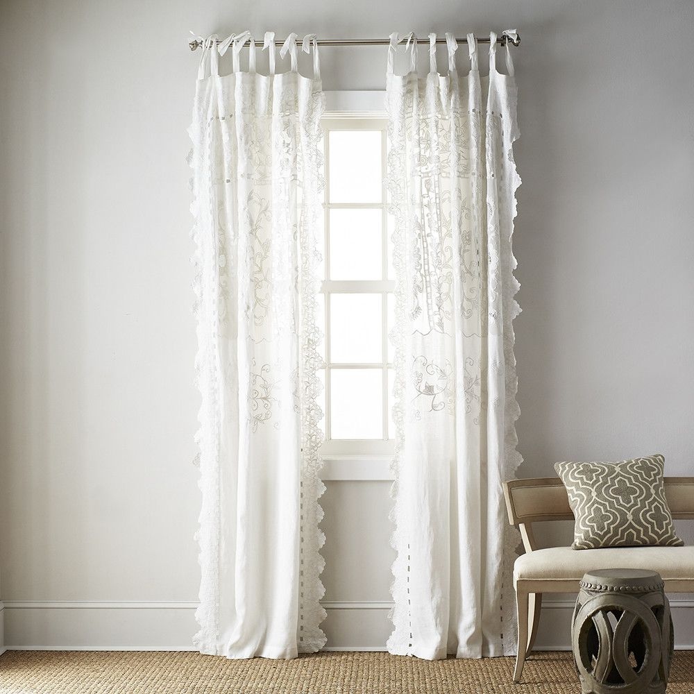 Popular window coverings  breezy curtain panels  lights and bedrooms