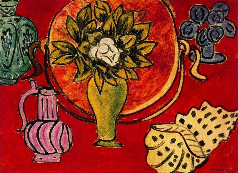 Larger view of Henri Matisse: Still Life with Magnolia - 1941