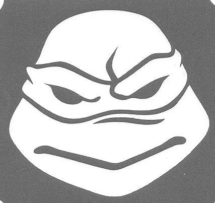 Ninja Turtle 3 Layer Stencil   Schablone