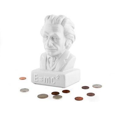 Alcancía En Forma De Albert Einstein Decorativa - $ 370.00 en MercadoLibre