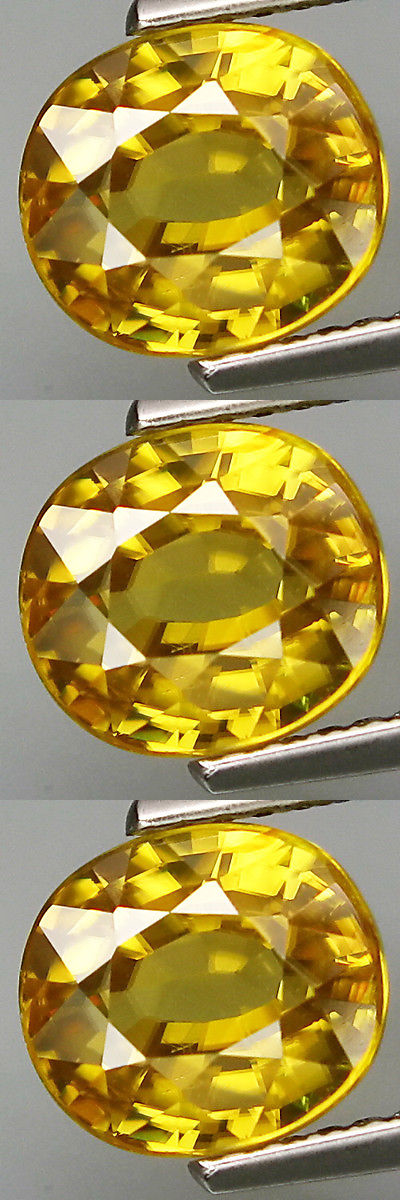 Zircon 10286: 3.62Cts Shimmering Hi-End Lustrous Gem - Best Natural Canary Yellow Zircon G262 -> BUY IT NOW ONLY: $829.95 on eBay!