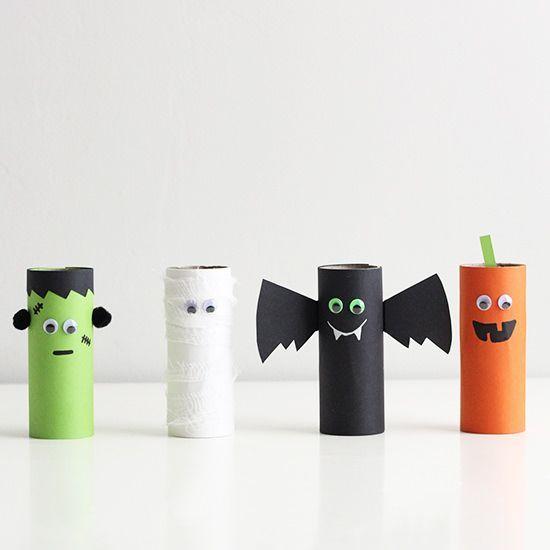 Halloweenpyssel (Think Organic) #halloweencraftsfortoddlers