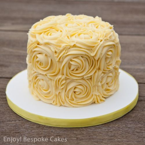 Excellent Yellow Rose Cake With Images Yellow Birthday Cakes Cake Funny Birthday Cards Online Elaedamsfinfo
