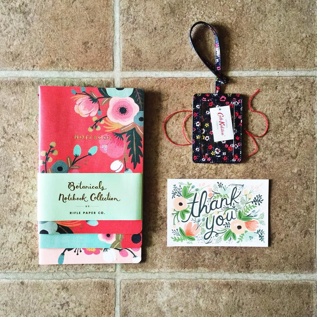 notebook, luggage tag ...