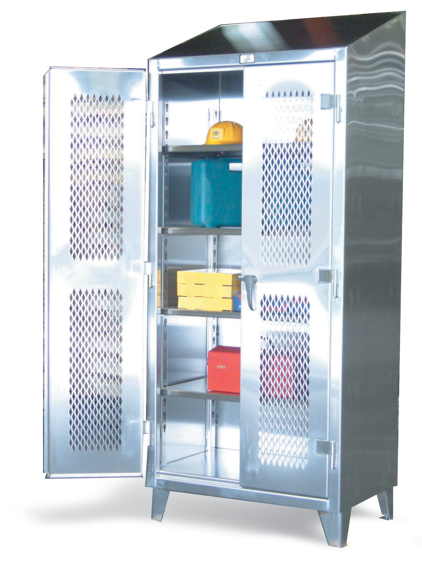 Strong Hold Products Stainless Steel Cabinets Steel Locker Stainless Steel