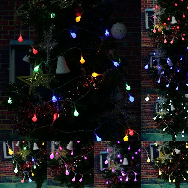 Battery Powered 3M 20 LED Ball Fairy String Light Outdoor Christmas - outdoor christmas decorations wholesale