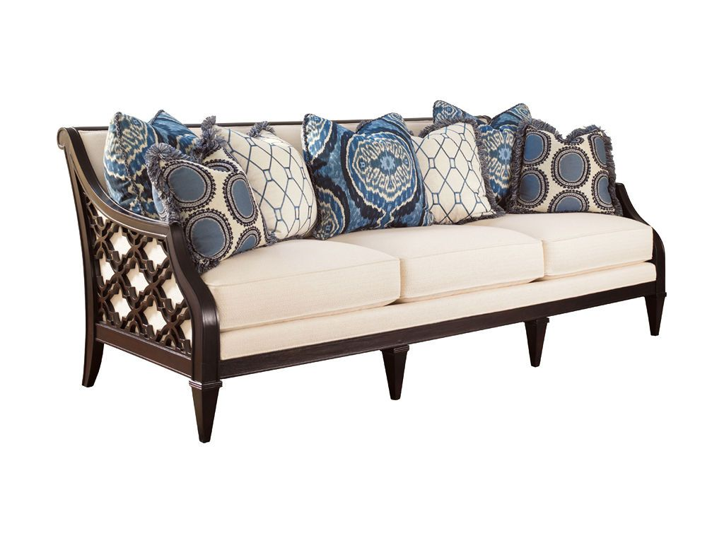 Tommy Bahama Home Living Room Bay Club Sofa 1514 33   Ennis Fine Furniture