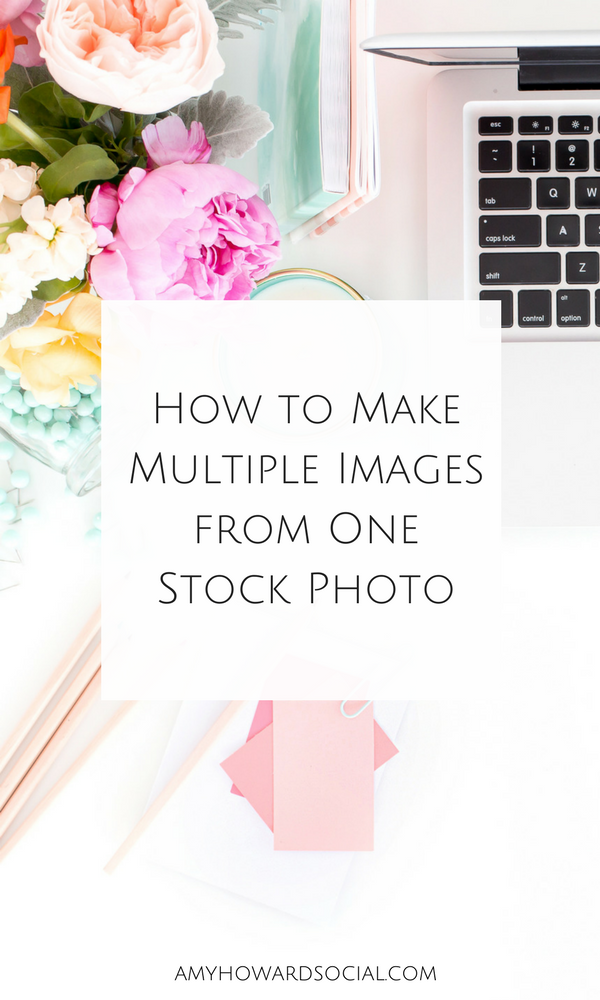 Learn How to Make Multiple Images from One Stock Photo, plus where to purchase feminine styled stock photography. Haute Chocolate Library.