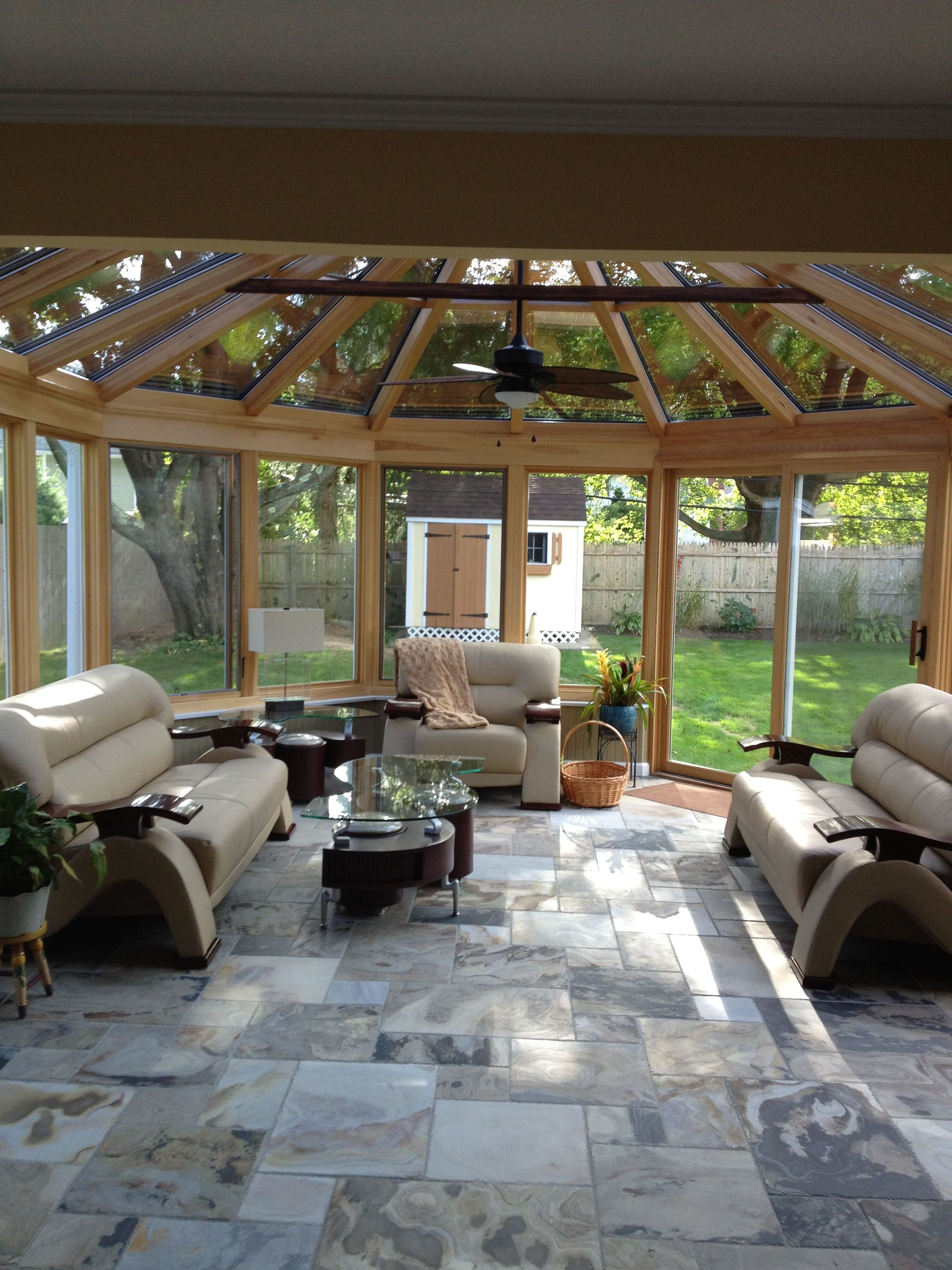 Home Additions Sunroom Decorating Four Seasons Room: Another Beautiful Sunroom Design By Four Seasons!