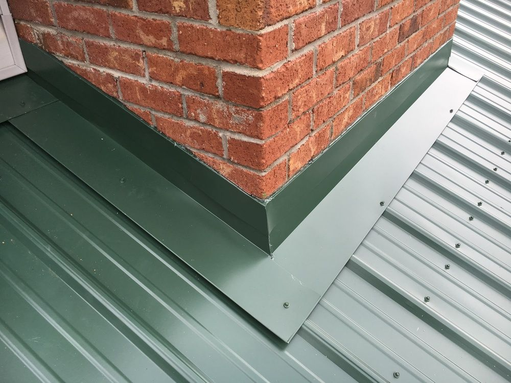 Metal Roofing — Hughes Construction
