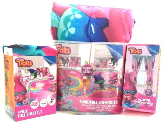 Pin On Kids Dreamworks Trolls Quot Trolls Life Quot Bed In A Bag