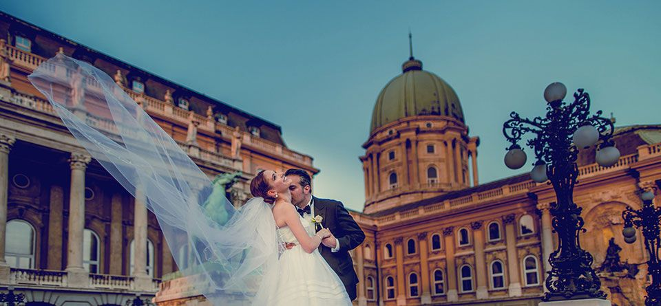 Buda castle wedding cakes
