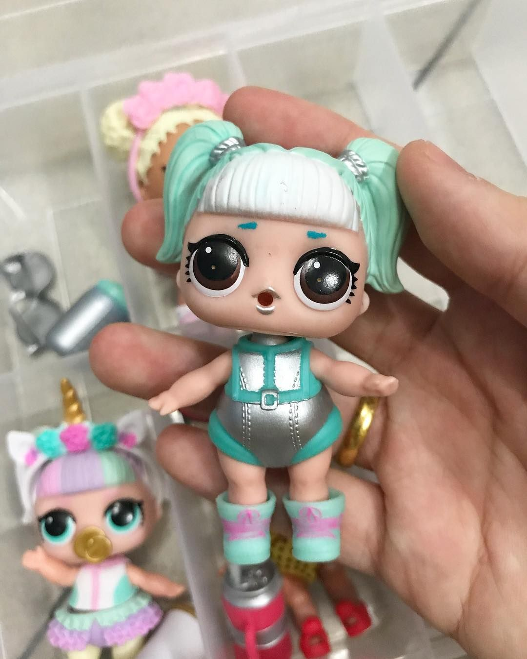 lol surprise confetti pop series 3 wave 2 ❤️GLAMSTRONAUT❤️ Ultra Rare.