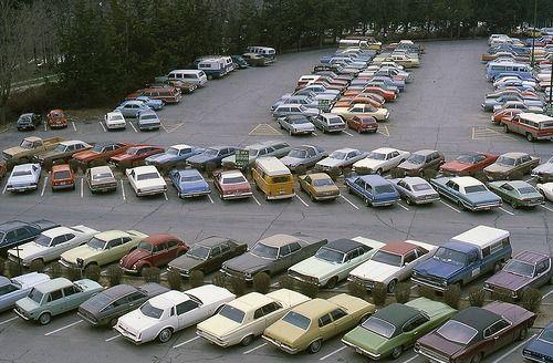 Parking. Ohama, NE (1979) © UNO Library