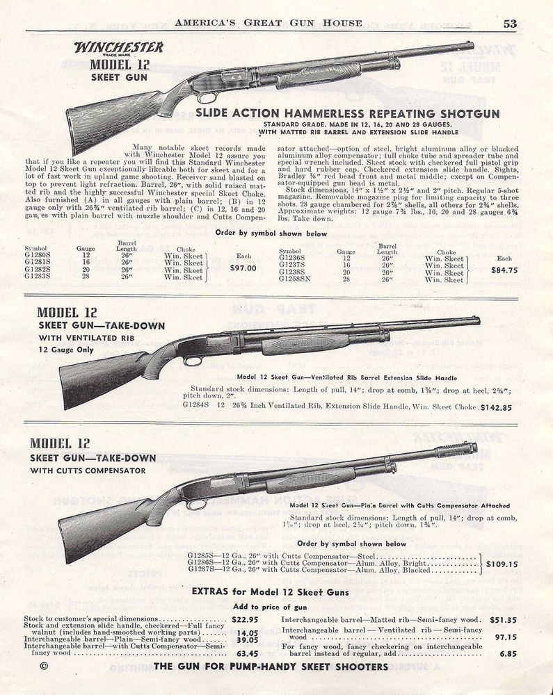 Pin by RAE Industries on winchester model 12 | Guns, Skeet