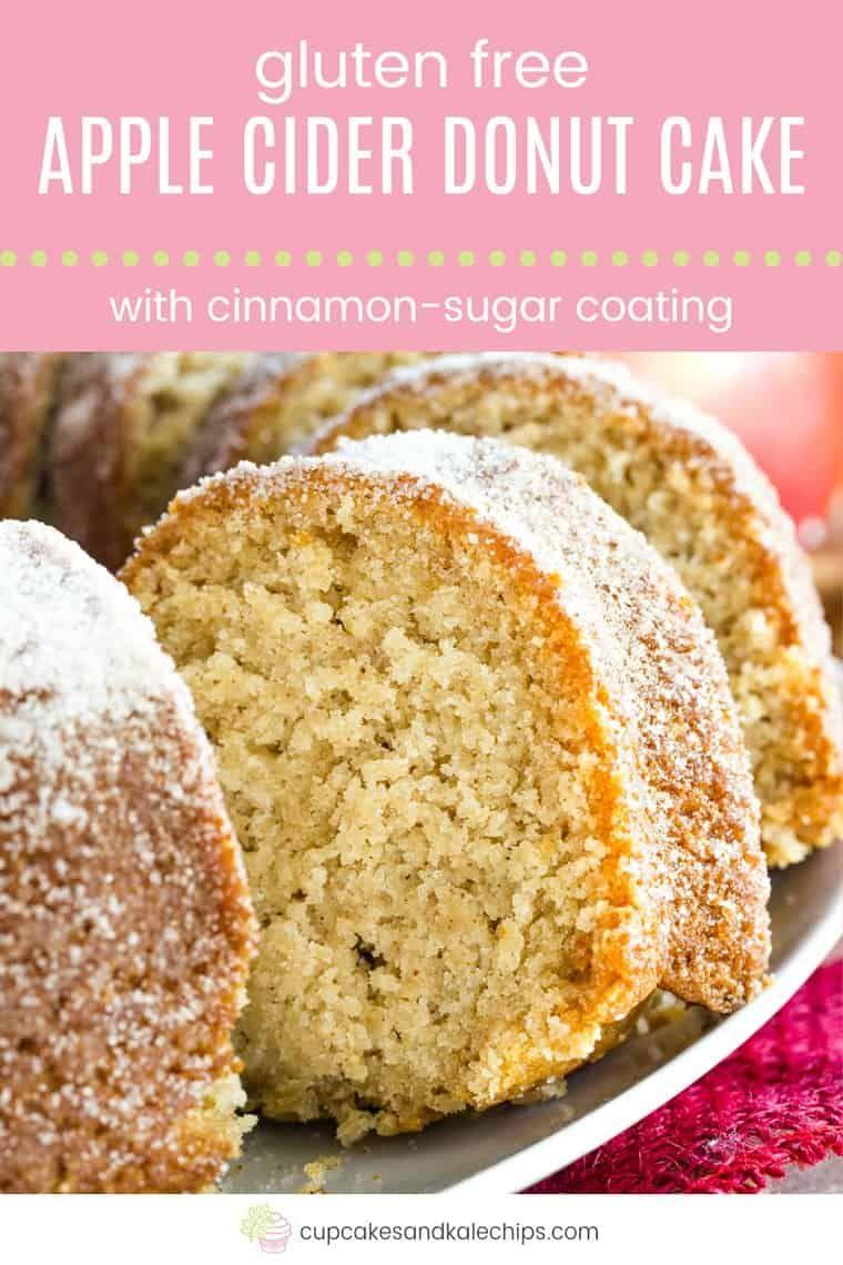 Gluten Free Apple Cider Donut Cake Recipe - Cupcakes & Kale Chips