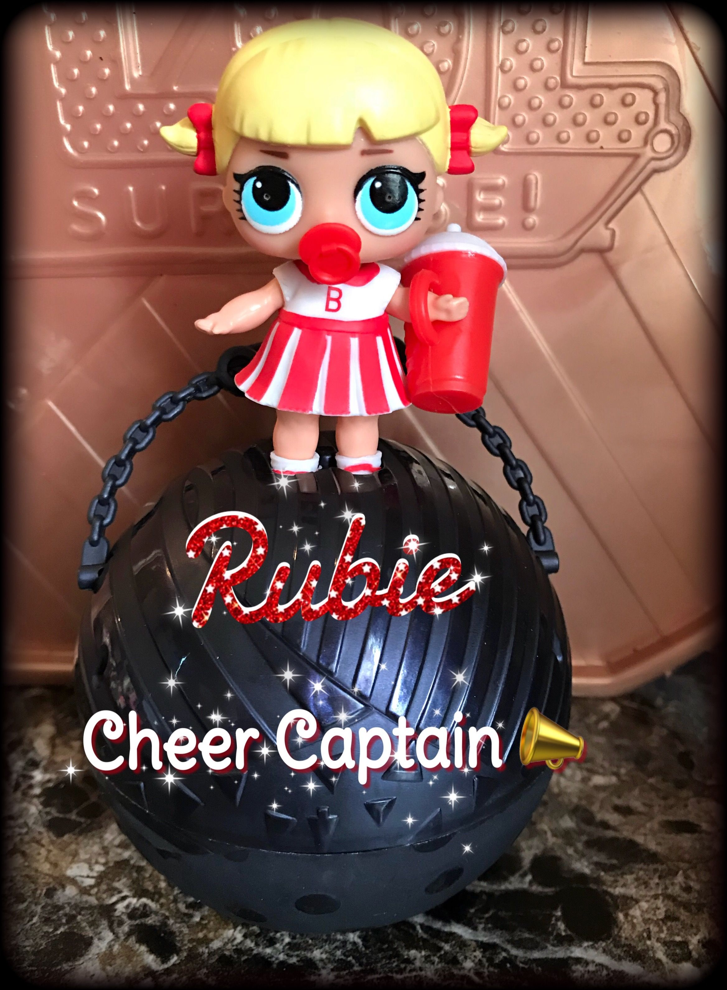 My Daughter S Hard To Find Cheer Captain Lol Surprise Dolls Cheerleader Rare Unicorn Rubie Cheer Captain Toys For Girls Christmas Bulbs