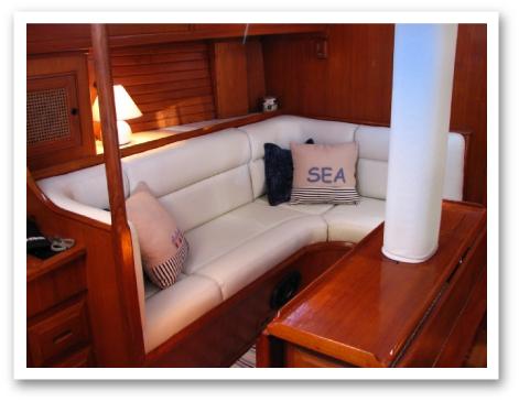 Boat Interior Restoration Cabin Cruiser Boat Interior Boat