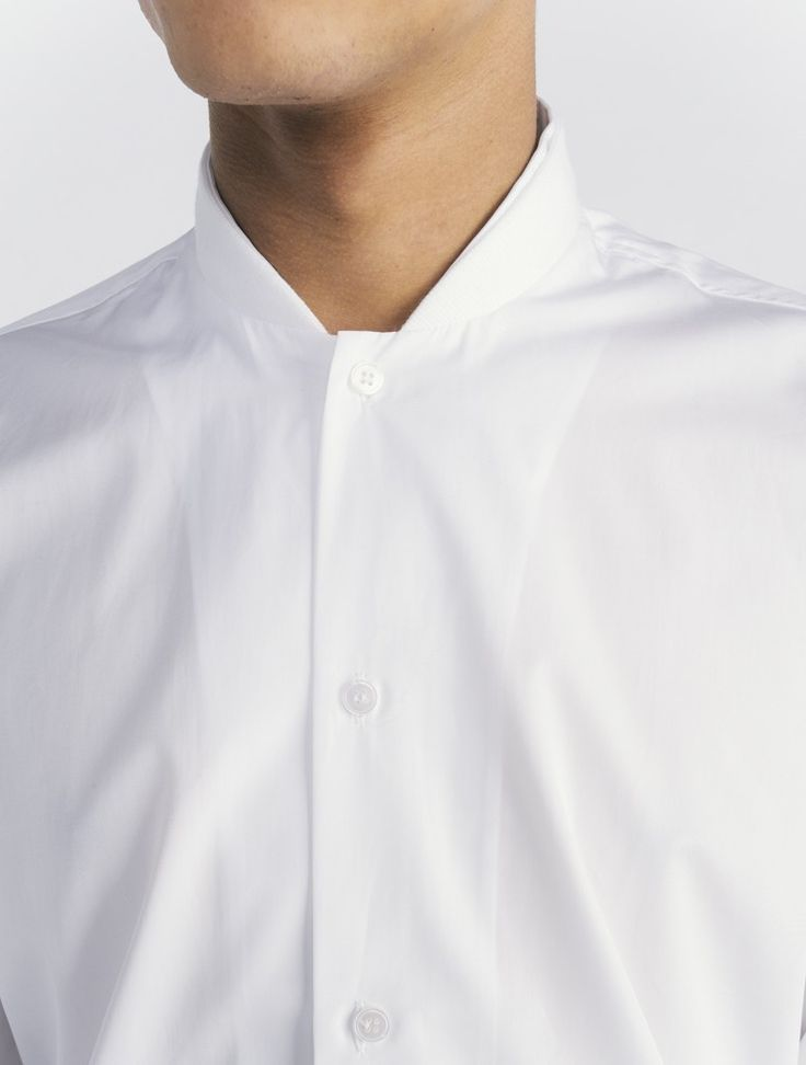 COMMON Ulrich baseball collar Shirt. | COLLAR DETAILS | Pinterest ...