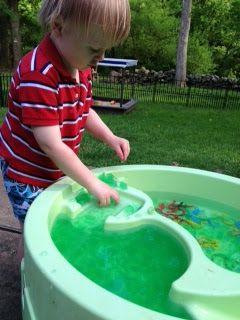 Water Table Sensory Play Ideas