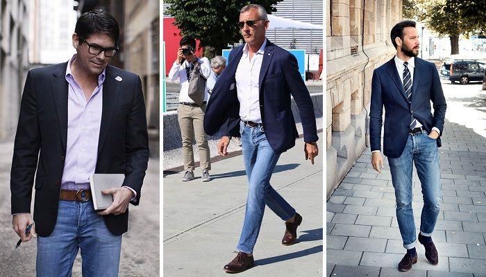 Como combinar blazer e calça jeans