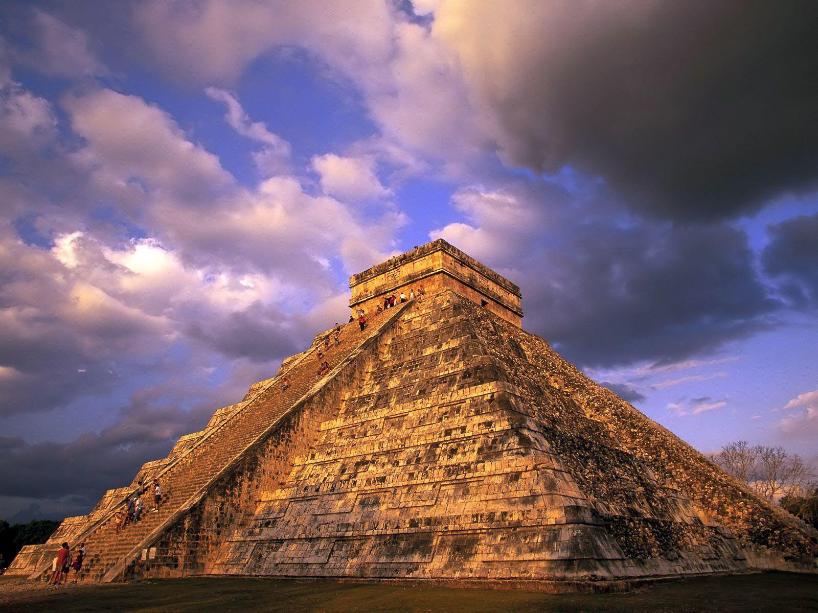 Mexico Mayan Pyramid hd Wallpaper ;) happy Pinterest