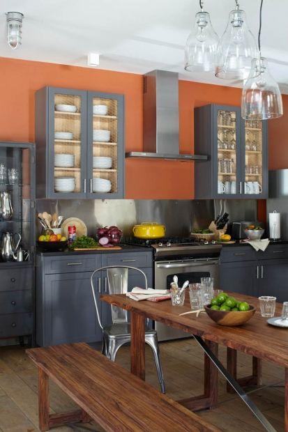 Best Peach Kitchen Grey Cabinets Bavarian Chalet Kitchen 640 x 480