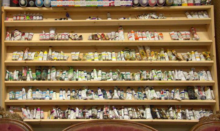 paint tube shelf- Artlife original