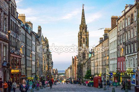 Los lugares de Escocia — Imagen de stock #114434422