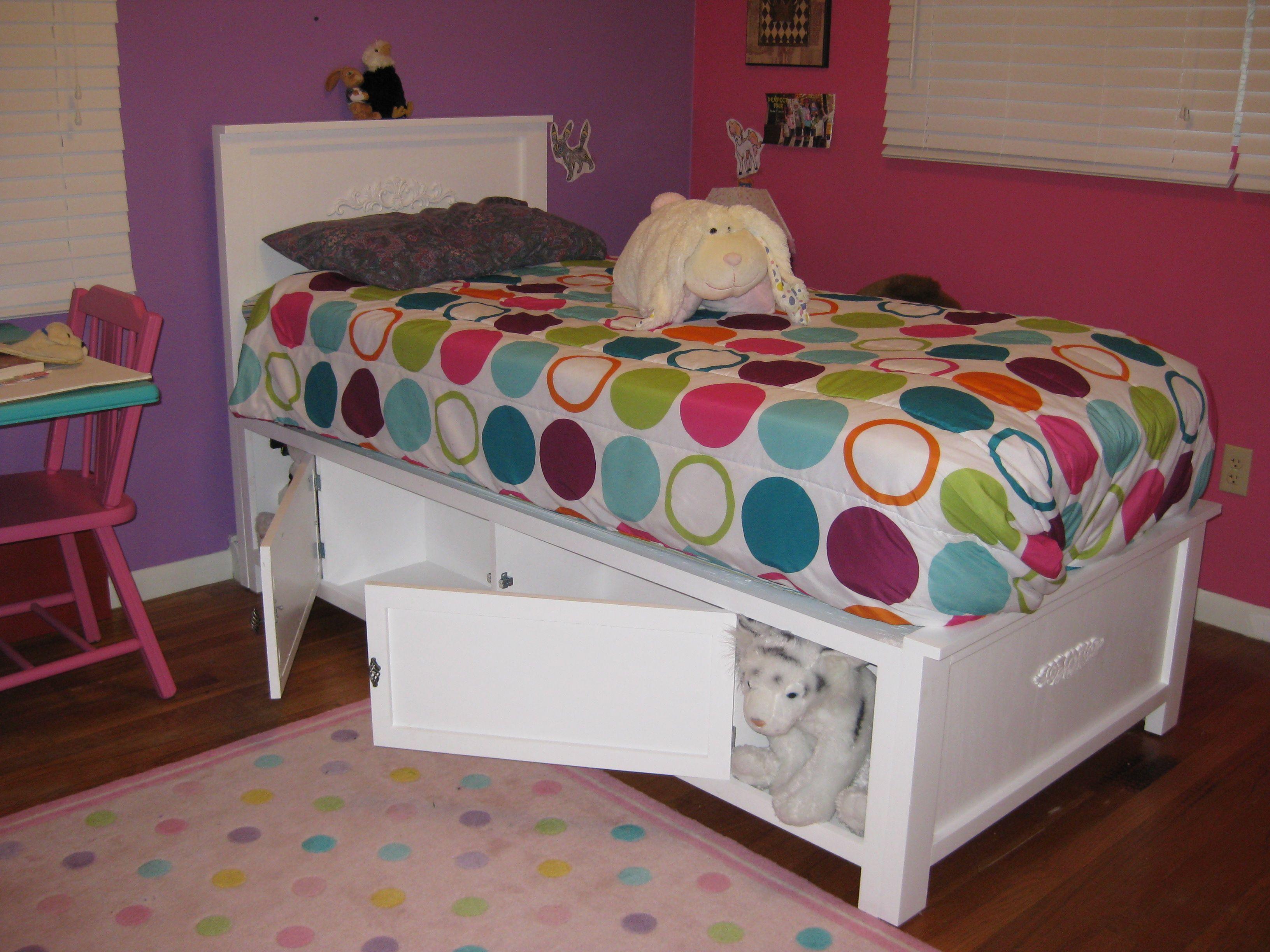 Best Ana White Com Twin Storage Bed Storage Bed Bed Twin 640 x 480