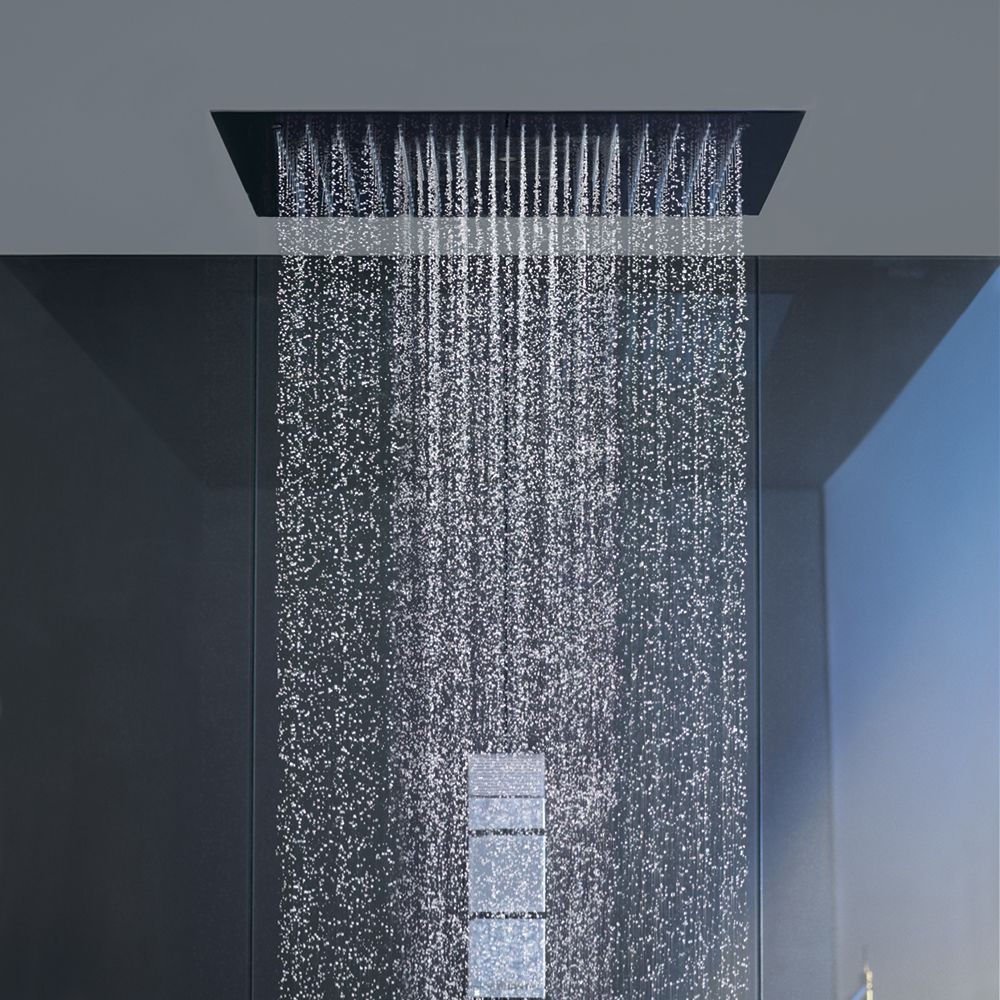 Starck Ceiling Mount Square Shower Heaven Shower Head From Axor