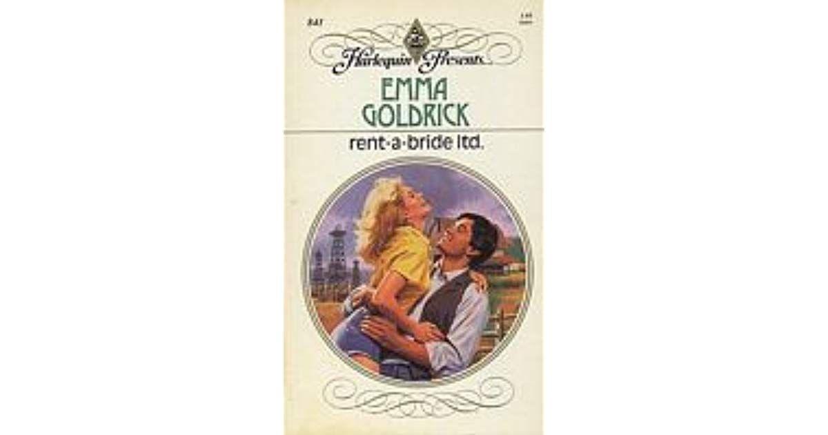 Rent A Bride Ltd By Emma Goldrick Rent Bride Books