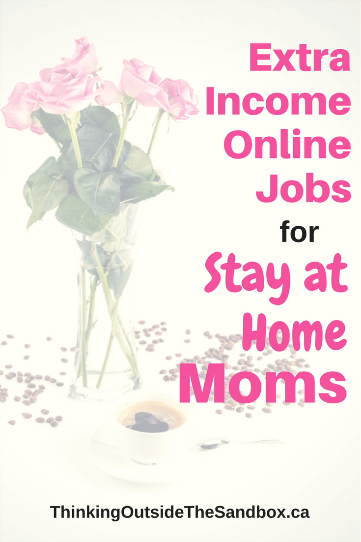 Extra Income Online Jobs for Stay at Home Moms | Entrepreneurship ...