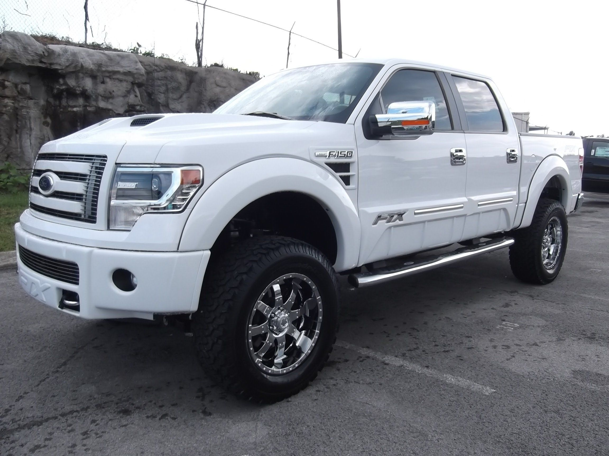 2013 white ford f150 lifted jdr0bp6q - White 2005 Ford F150 Lifted