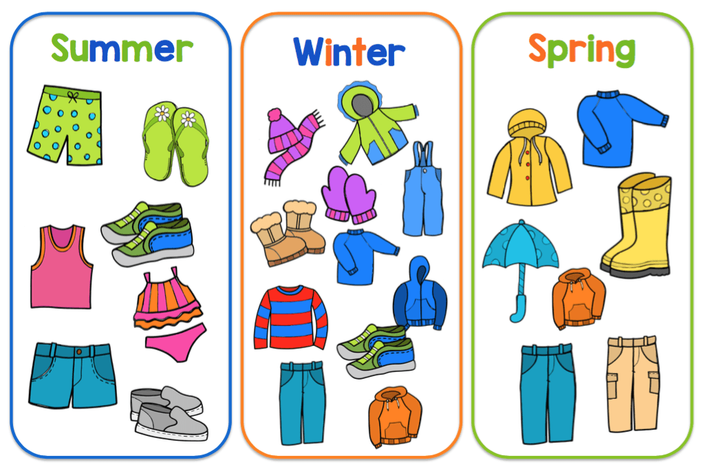 Summer Clothing Clipart ClipartXtras download free, best