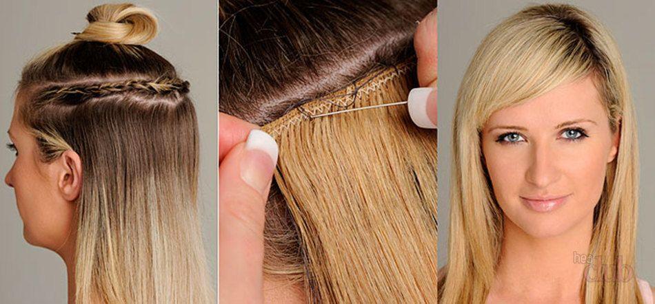 Волосы на заколках прически с ними 68