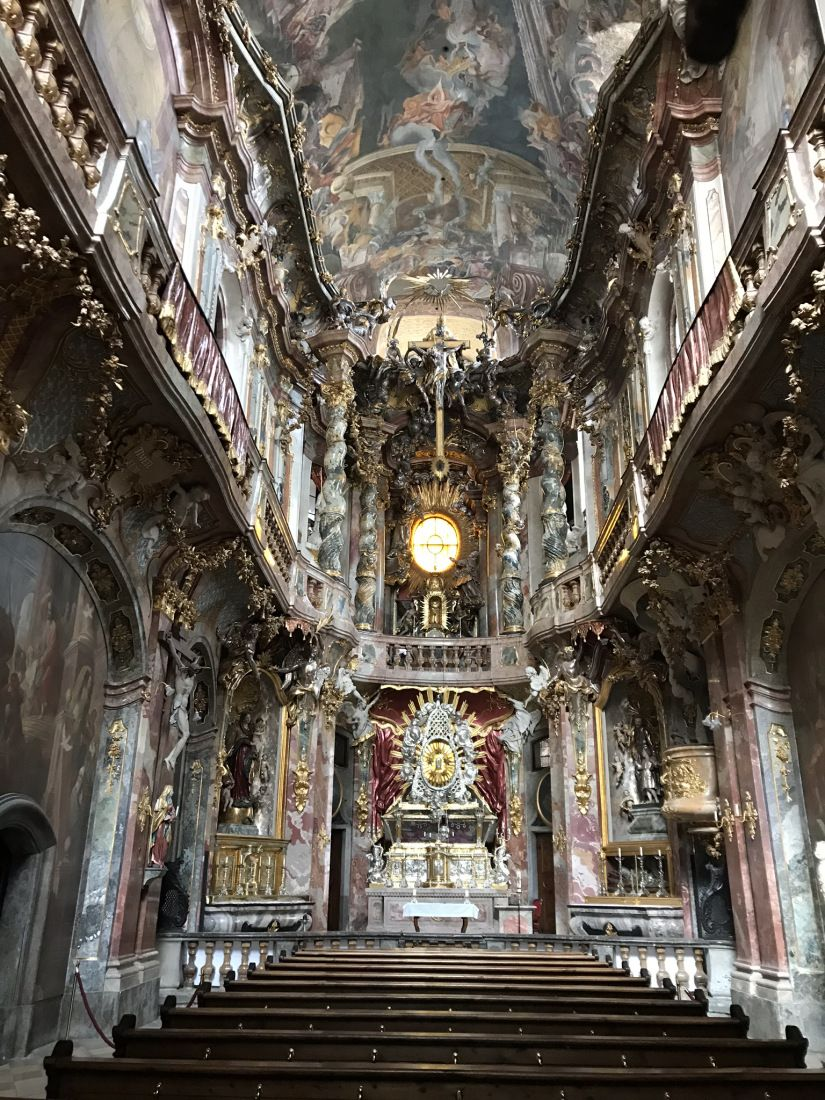 Photo Diary Munich Germany Round Trip Architecture Old Baroque Architecture Old Churches