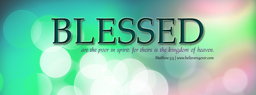 Blessed are the poor FB Covers & iPad Wallpaper Cover