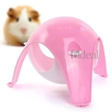 Cage House Hanging Toy Plastic Pink White For Pet Hamster Rat Gerbil Hamster Toys Hamster Hamster Cage