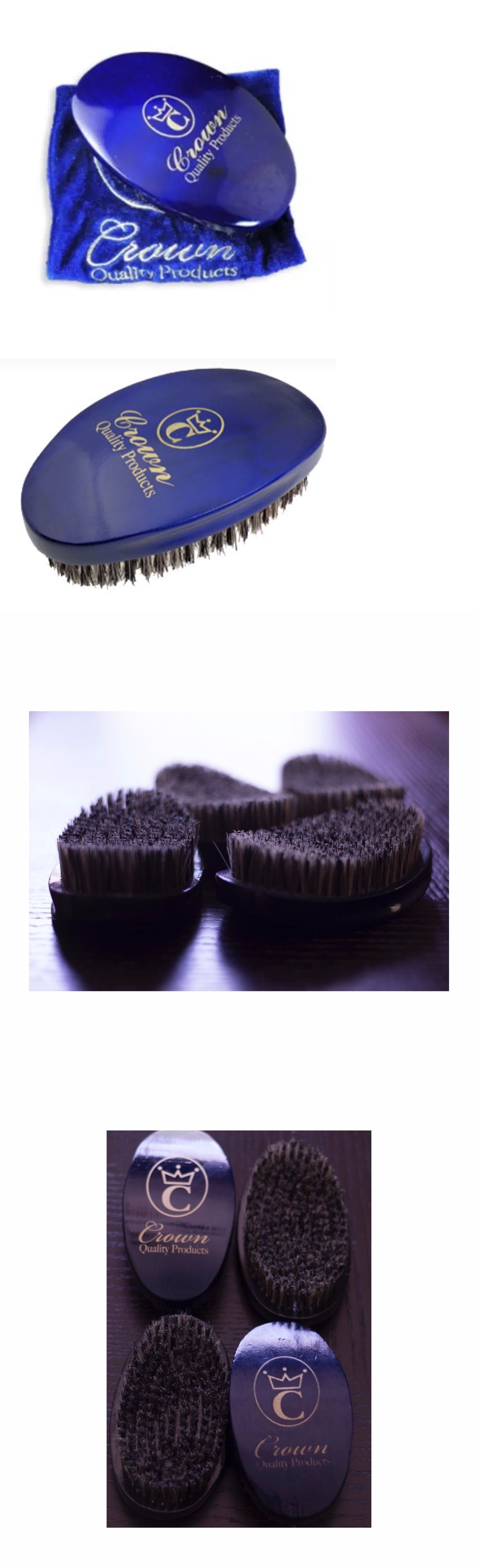 Crown Quality Products 360 Gold Caesar Wave Brush Medium Blue In The Wet Tourmaline Blowout Brushes And Combs 11855 Buy It Now Only 1995 On Ebay