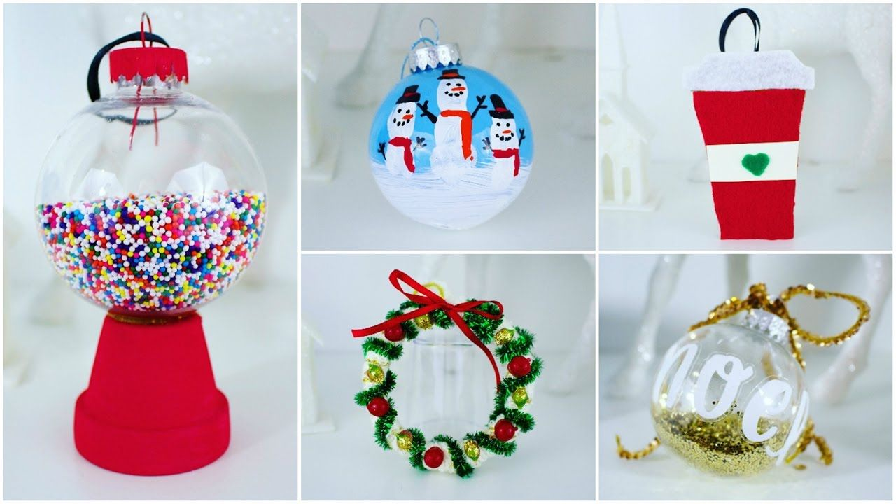 5 Cheap And Easy Diy Christmas Ornaments Pinterest Inspired Easy Cheap Christmas Decorations Diy Christmas Ornaments Easy Diy Christmas Ornaments
