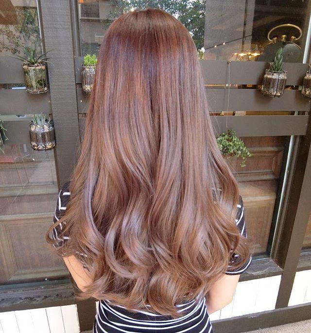 Instagram Photo By 76 Style Hair Salon Mar 4 2016 At 10 22am Utc Long Hair Styles Hair Styles Brownish Red Hair