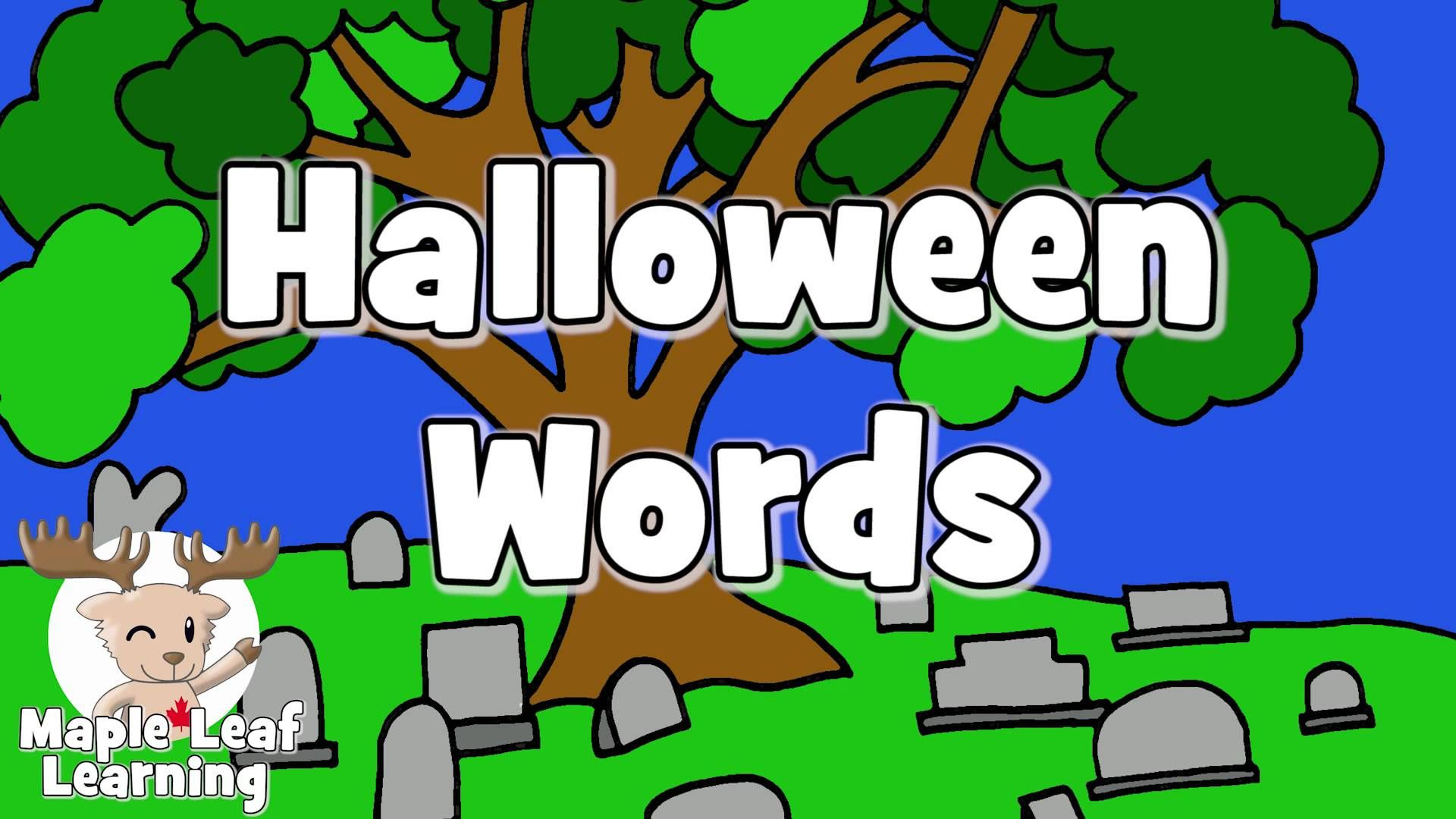 Learn Halloween Vocabulary 2
