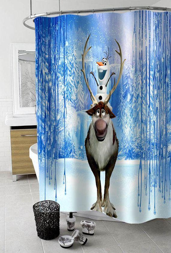 Olaf Custom Shower Curtain Funny By KreyeZZkreyeSS