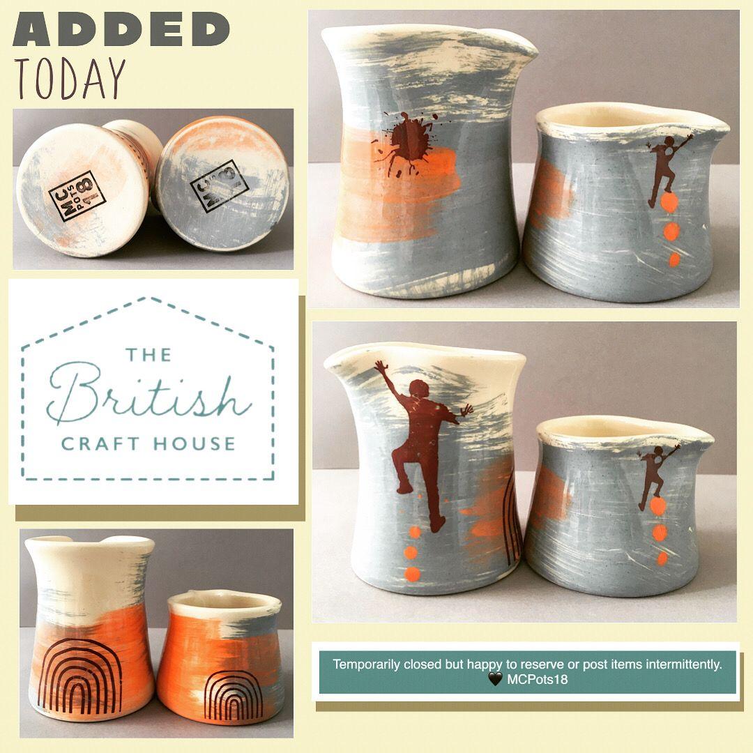 #keepclimbing #keepsmiling #keepcreating #tbch #thebritishcrafthouse #tbchboosters #ceramicpourer #juglets #smallshop #climber #ceramiclove #potterymaker #claylover #hmuk #handmade #ukcraft
