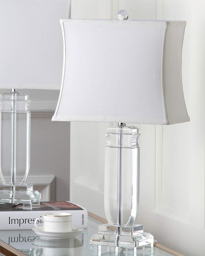 Safavieh Olympia Crystal Table Lamps Set Of 2 In 2020 Crystal Table Lamps Table Lamp Lamp