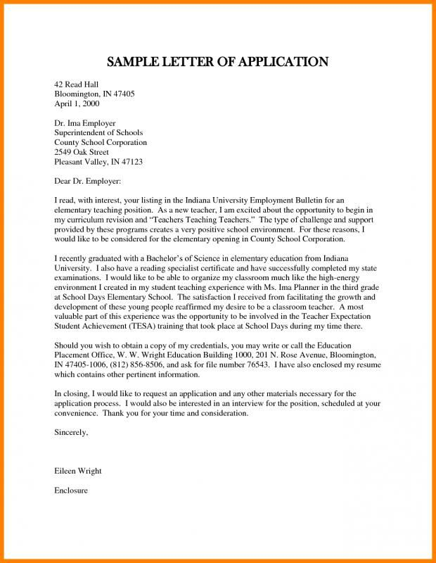 Application Letter Sample template Pinterest Letter sample - letter of support sample
