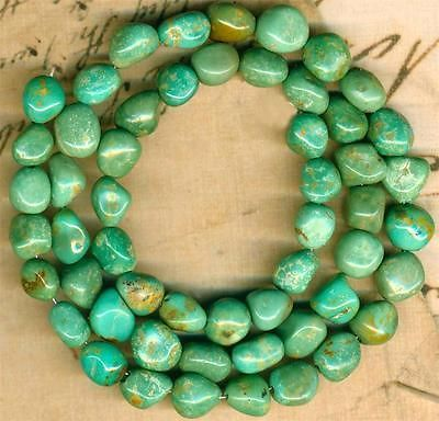 """Mexican Campo Frio Turquoise BEADS100 Pure 16"""" Strand Genuine Color 6 9mm 